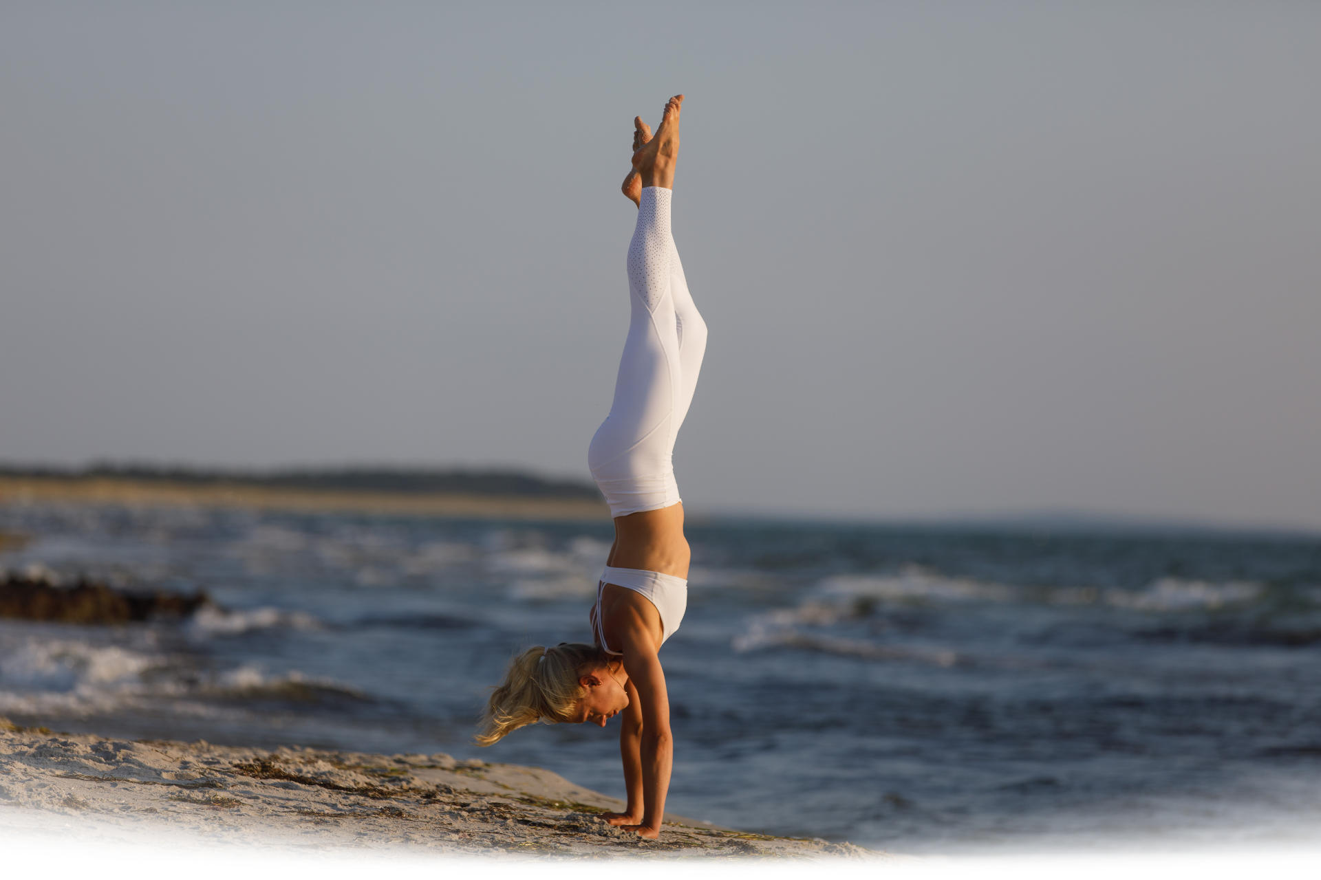 Marie Kliefert Chinese Yoga auf Hiddensee